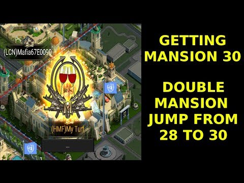 Mansion 30 finally! - Mafia City - Jumping from Mansion 28 to 30