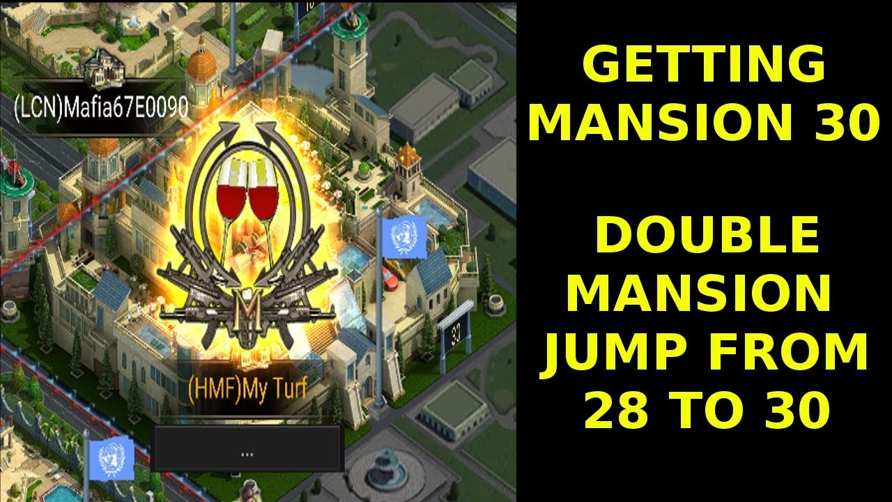 Mansion 30 Finally Mafia City Jumping From Mansion 28 To 30 Youtube