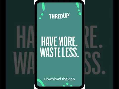 thredUP App Preview 2021