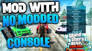 GTA 5 ONLINE PS3: HOW TO GET MOD MENUS WITH NO JAILBREAK! GTA 5 MOD MENU ON Online! *NO JAILBREAK*