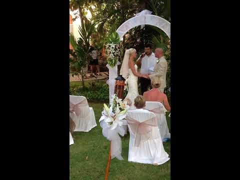Georgina & Elliott's Wedding in Mexico 2012
