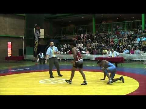 2013 Commonwealth Championships: 74 kg GR Final Rajbir Chhikara (IND) vs. Rahul (IND)