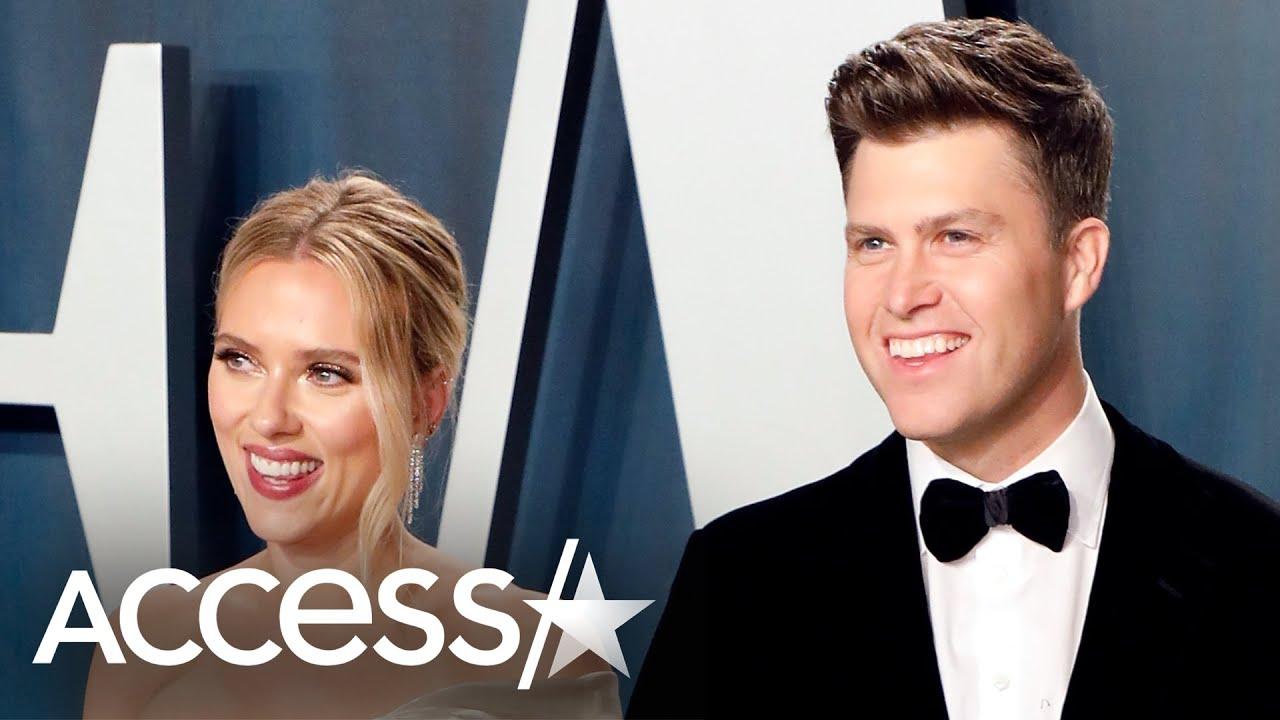 'Jost Married': Scarlett Johansson marries Colin Jost