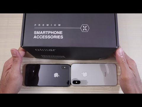 Download Youtube: iPhone X in Jet Black?! Olixar iPhone X Cases and Tempered Glass!