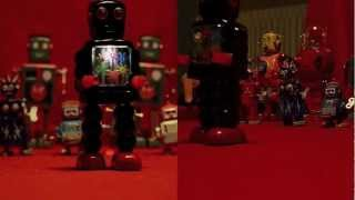Robot Rock - Collection of Tin Toys