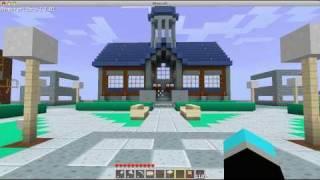 minecraft town square idea
