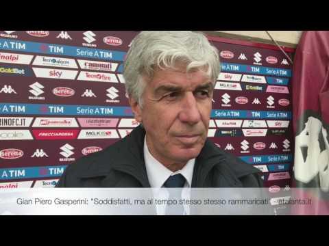 Dopo Torino-Atalanta, il commento di Gian Piero Gasperini