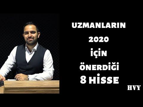 Uzmanların 2020 İçin Önerdiği 8 Hisse !