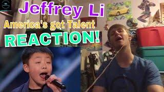 Jeffrey Li: 13-Year-Old Sings Incredible Rendition Of