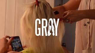 Наращивание волос от Марии GRAY!