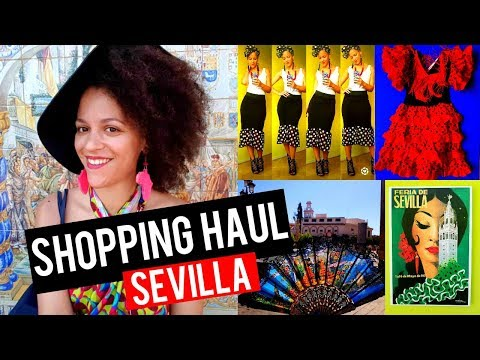 TRAVEL SHOPPING HAUL: SEVILLA | POLKA DOT FABRICS, HOME DECOR, MUGS & MORE | TRAVEL & SHOPPING