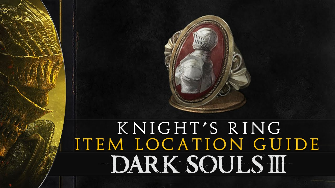 Dark souls knight s ring item location guide youtube