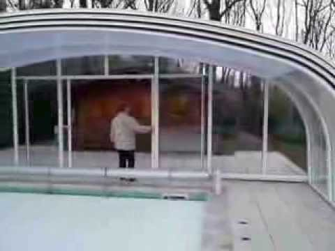 abris haut de piscine youtube