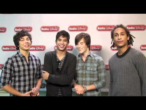 Allstar Weekend's Radio Disney Takeover Talk!