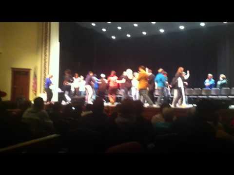 Hypnotist Show at MSU Dancing Section