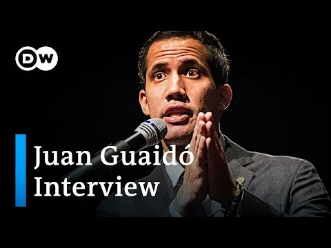 'What's happening in Venezuela could be considered a silent genocide': Interview with Juan Guaido