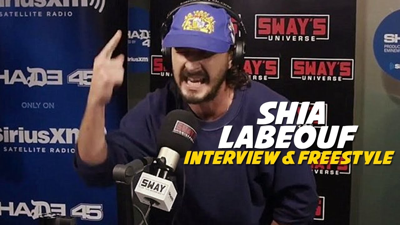 Download #1 MC in Hollywood: Shia LaBeouf Freestyles 5 Fingers of Death with Oswin Benjamin | Sway's Universe