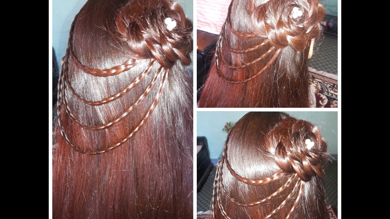 Party Hairstyle For Young Girls YouTube - Hairstyle design dikhaye