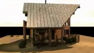 The Sabine - Log Home Design - Plan By Gravitas - Modern Home Design