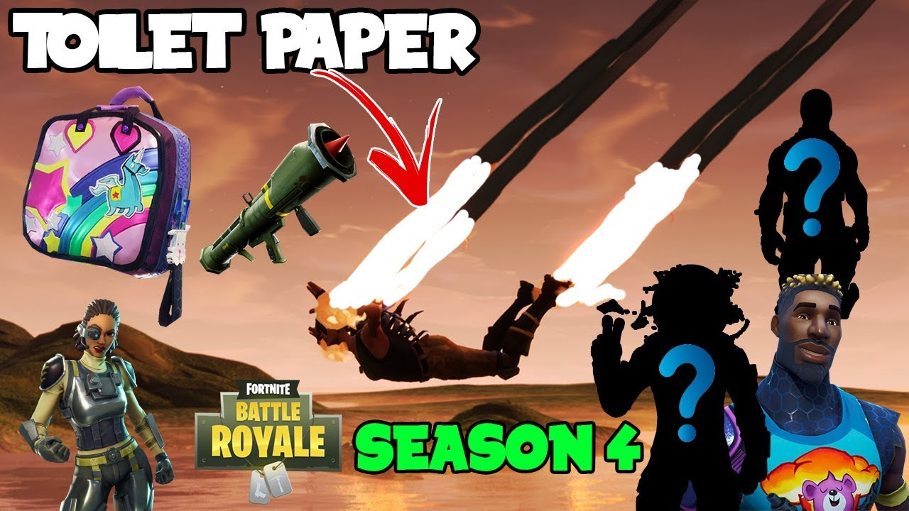 New Leaked Items For Season 4 In Game Files Skins Trails Traps More Fortnite Battle Royale