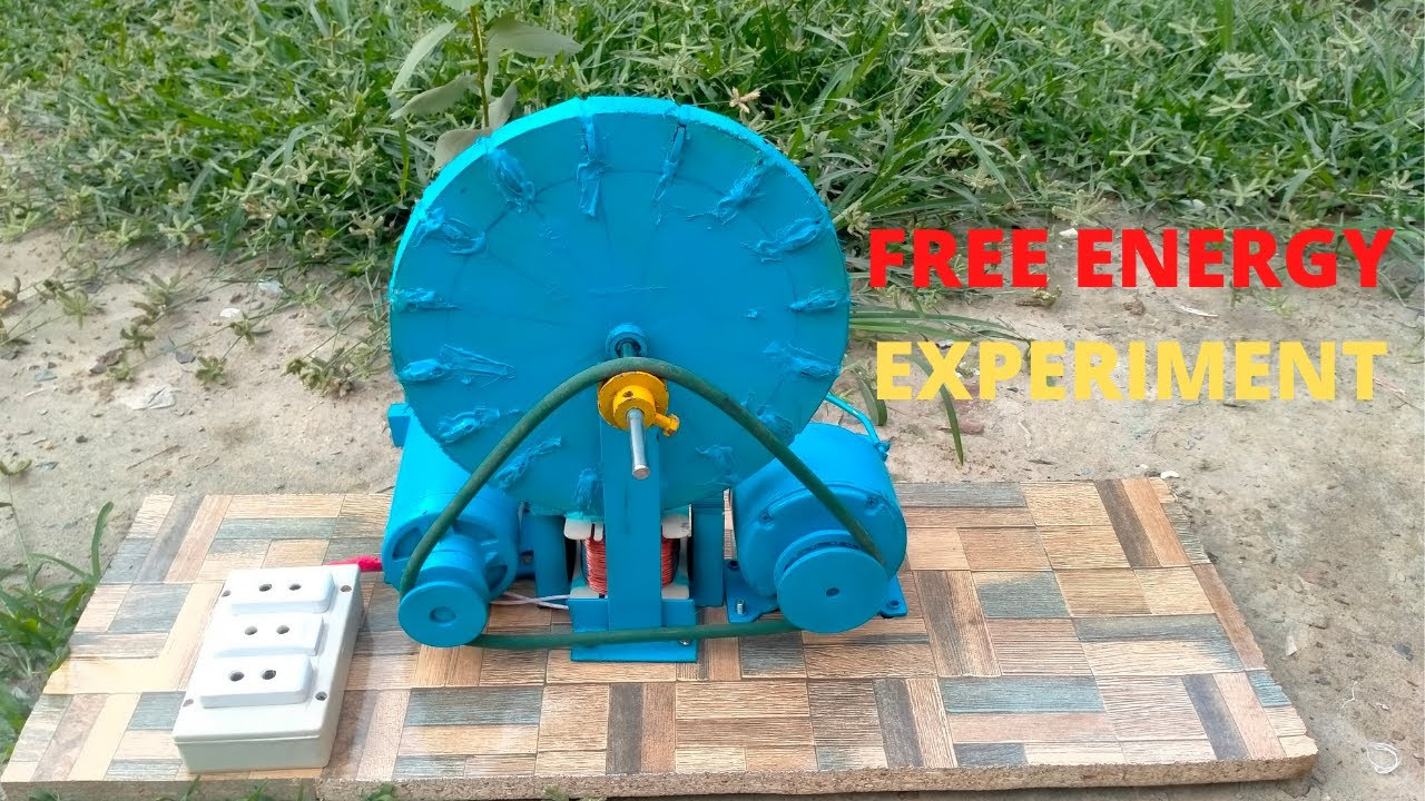 Download how to make 350 watts free energy generator 240 volt alternator new experiment