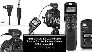 Wireless Remote Shutter Release  For Canon DSLR  Cameras