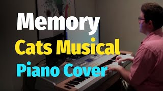Memory (Cats Musical) by Andrew Lloyd Webber - Piano Cover