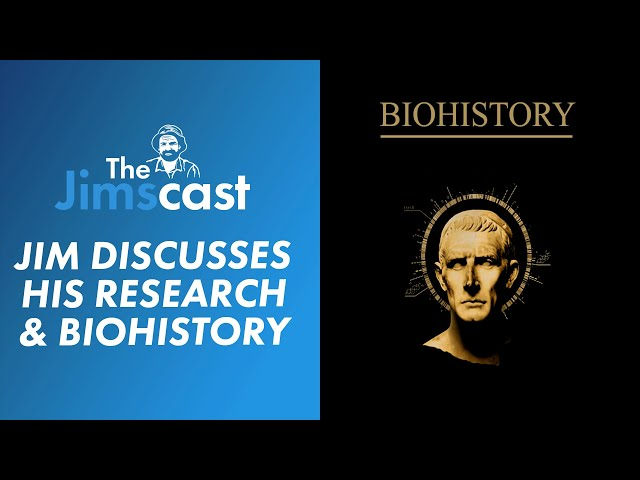 #JIMSCAST Biohistory and Mental Health? Jim Penman elaborates on his research project