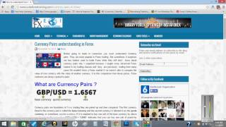 currency pairs understanding in Forex