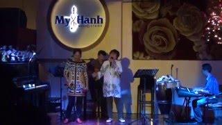 Cho em quên tuổi ngọc - Song ca Bạch Lan & Cô Nga - Giao lưu cùng ban nhạc Phòng trà Mỹ Hạnh