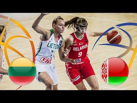 Lithuania v Belarus - Full Game - Semi-Finals - FIBA U20 Women