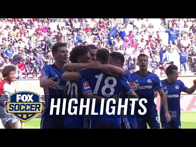 FC Augsburg vs. FC Schalke 04   2017-18 Bundesliga Highlights