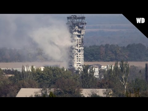 Donetsk Airport ~ Before And After