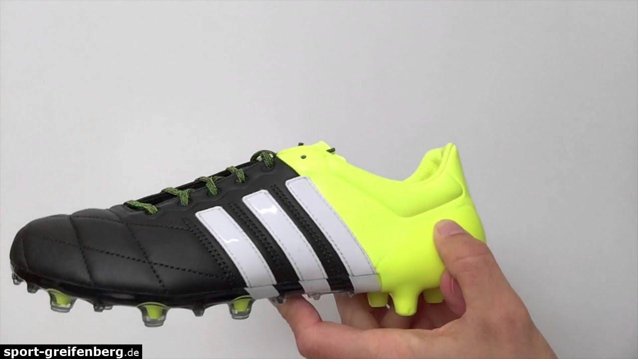 Adidas Ace 15.1 FGAG Leder (K Leder) Fussballschuhe