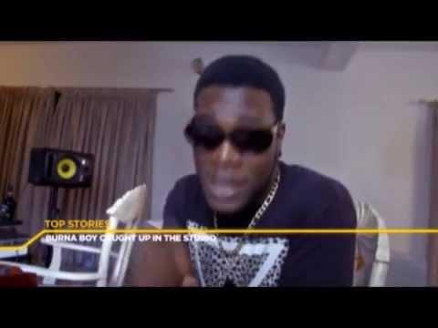 VIDEO:  Burna Boy Freestyles on E-Xtra