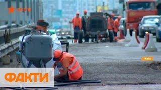 У водителей сдают нервы: когда закончится ремонт Южного моста в Киеве