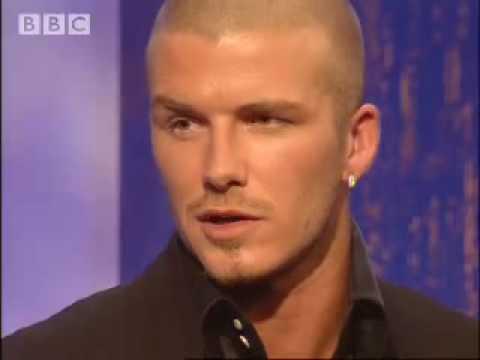 David Beckham Interview - part two - Parkinson - BBC