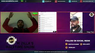 Discussion with consigliere - M Zilla's Halftime Show EP2 P2
