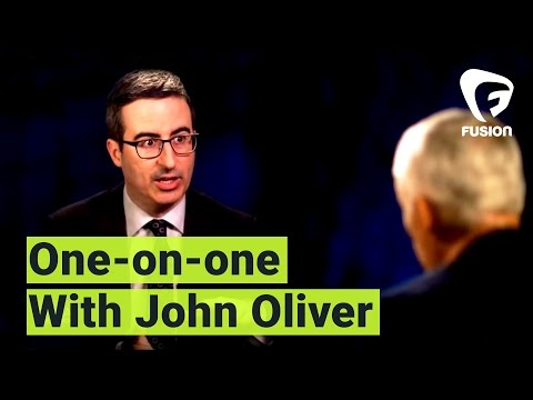 "Thumbnail: John Oliver to Jorge Ramos: ""I'm not a journalist"""