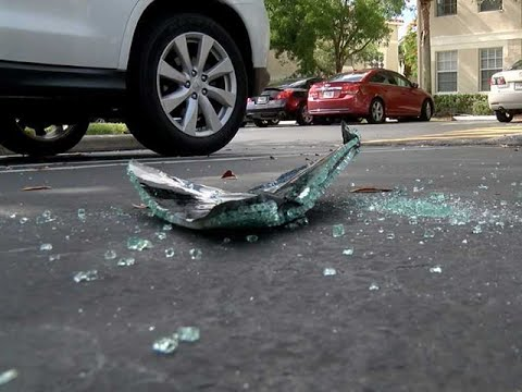 Car Windows Smashed At Portofino Place In West Palm Beach