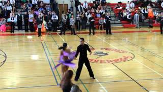 Yale Ballroom Dance Competition 2014 - Open Rhythm Mambo - Final