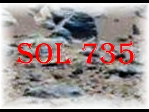 SOL 735 Carved Face  ------ TruthSeekers Mars Anomaly Research Aliens,UFO's,Martian Anomalies