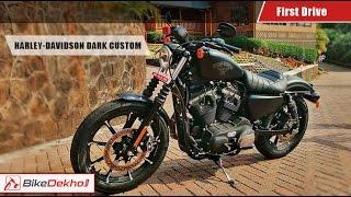 Harley Davidson Iron 883 Dark Custom | First Drive | BikeDekho.com thumbnail