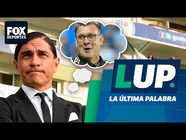 Palencia habla sobre el 'Tata' Martino