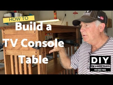 building-a-tv-console-table