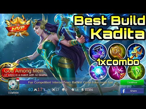 Kadita Best Build - Mobile Legends Bang Bang thumbnail