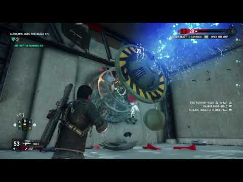 Just Cause 4 – Fortaleza Release - Destroy the Generators and Turbines - Lets Play