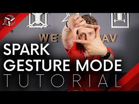DJI SPARK Gesture Mode Tutorial