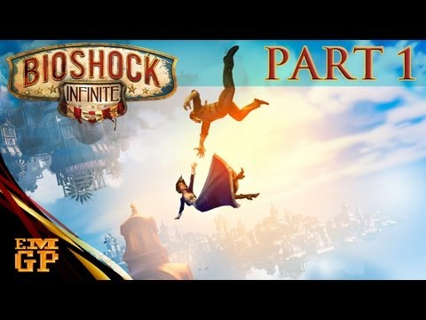 Bioshock Infinite - Part 1 - Exploring Columbia - First Hour of Gameplay - Xbox 360 - HD