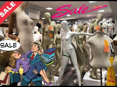 LORD & TAYLOR SALE- Mannequins & Dress Forms